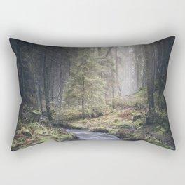 Silent whispers Rectangular Pillow