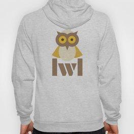 an owl Hoody