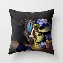 Little Fairy Throw Pillow