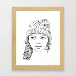 Beanie Cuteness  Framed Art Print