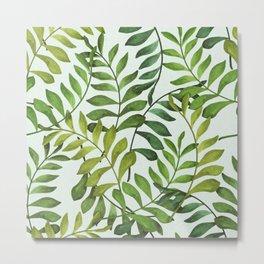 Fern pattern 03 Metal Print