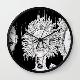 Puff, Puff, Pass Wall Clock
