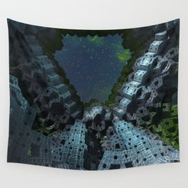 Fractalized Void Wall Tapestry