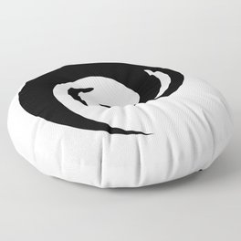 Yin Yang Exagerated Floor Pillow