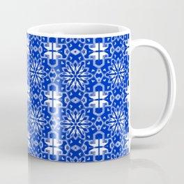 Sapphire Blue Star Geometric Coffee Mug