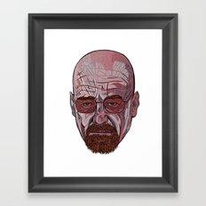 Mister White Framed Art Print
