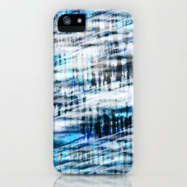 winter spirit abstract digital painting iPhone Case