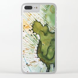 Reaching Out Clear iPhone Case