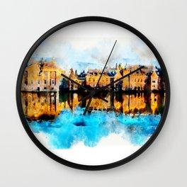 sketch the Hague Wall Clock