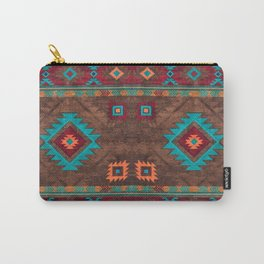 Bohemian Traditional Southwest Style Design Carry-All Pouch