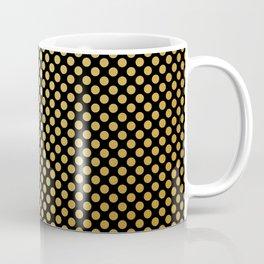 Small gold dots patter Coffee Mug