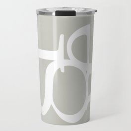 Grey II  #society6 #decor #buyart Travel Mug