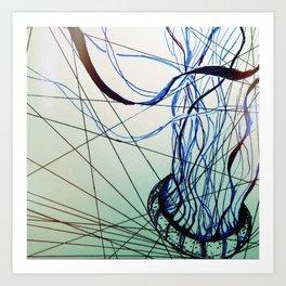 Geometric Jelly Art Print