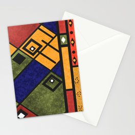 Abstract grunge 2 Stationery Cards