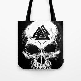 ValknutR Skull Tote Bag