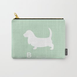 Basset Hound | Dogs series | Mint Carry-All Pouch