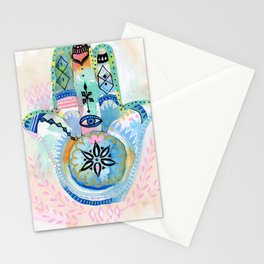 Morocco Hamsa Hand Stationery Cards
