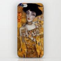 klimt iPhone & iPod Skins featuring klimt by Antonio Lorente