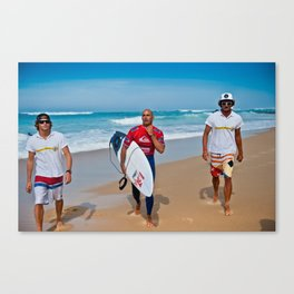 Pro Surfer & Legend Kelly Slater Canvas Print