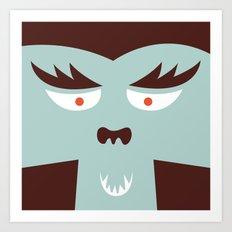 The Monster Club - Monster #7 Art Print