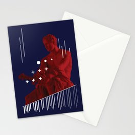 RED ARES Stationery Cards