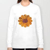 karu kara Long Sleeve T-shirts featuring The Beauty of Maturity by Klara Acel