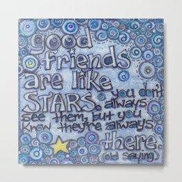 Good Friends Metal Print