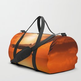 White  Eagle Duffle Bag