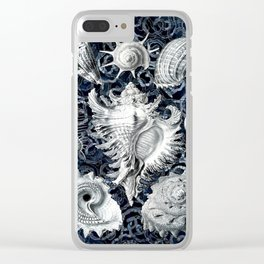 Ernst Haeckel Sea Shells Clear iPhone Case