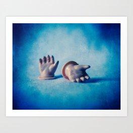 Doll Hands Art Print
