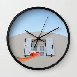 summer vibes Wall Clock