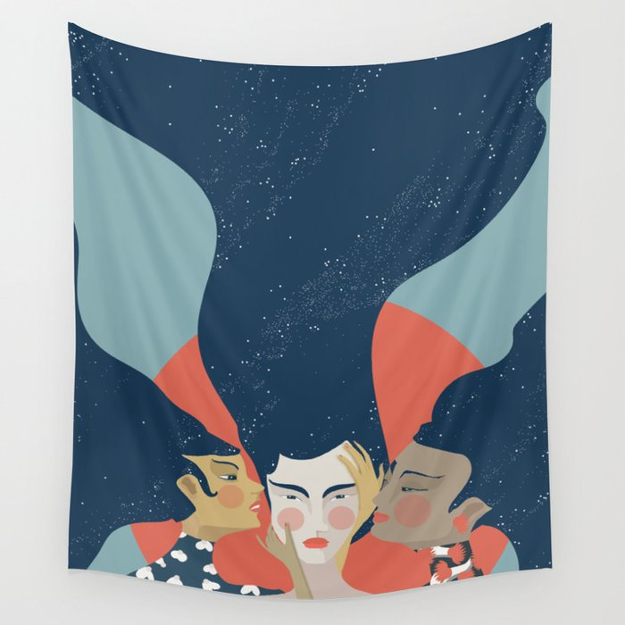 Quiet the Mind Wall Tapestry