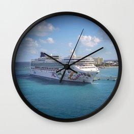 Norwegian Pearl - Ocho Rios Wall Clock
