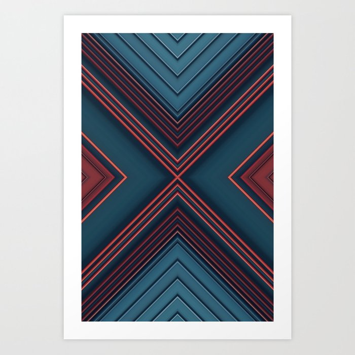 Gas Tubes Art Print