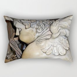 Angel in St Peter's Basilica Rectangular Pillow
