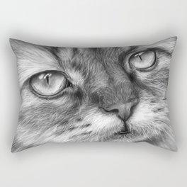 Cat Drawing Rectangular Pillow