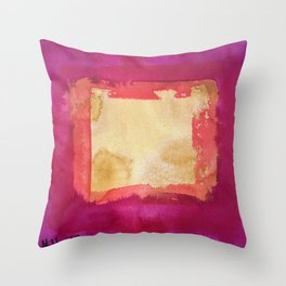 color abstract 4 Throw Pillow