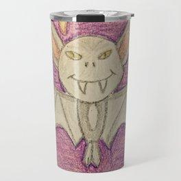 Bat in a cave Travel Mug