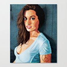 Hathaway Took My Heart Away Canvas Print