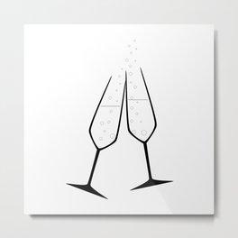 Celebration Drink Metal Print