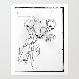 Snoop Mantis// Art Print