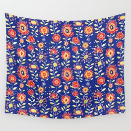 wonky wildflower waterfall ... Wall Tapestry