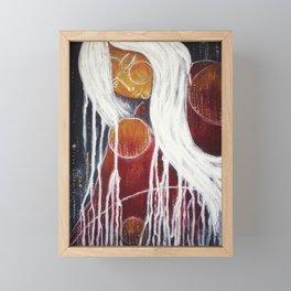 Storm Goddess Framed Mini Art Print