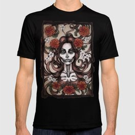 Blossoming Day of the Dead T-shirt