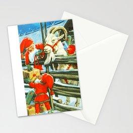 """""""Billy Goat Helper"""" by Jenny Nystrom Stationery Cards"""