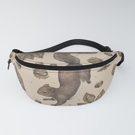 The Squirrel and Chestnuts Fanny Pack