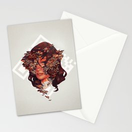Medusoid mycelium Stationery Cards