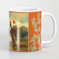 unicorn Mugs featuring Unicorn by Iris V.