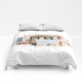 Head in the clouds in Manarola II Comforters