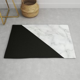 Marble, Stone, Color Block, Minimal Art Rug